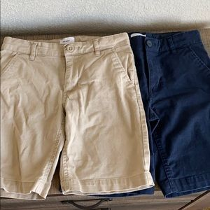 Old Navy Uniform Shorts